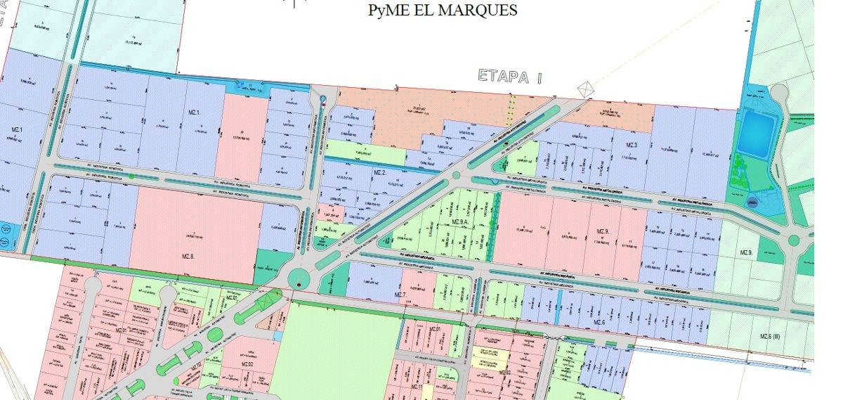 terrenos en parque industrial pyme desde 2000m2