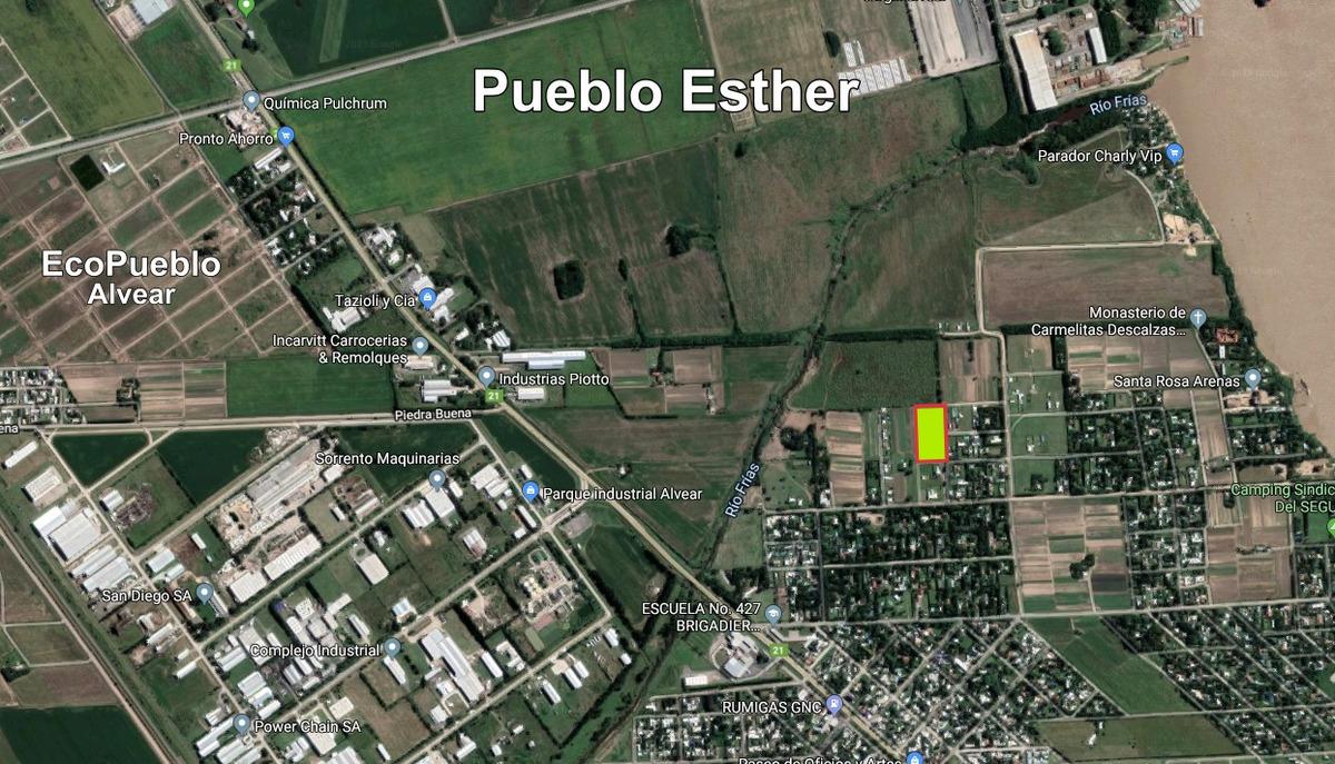 terrenos en pueblo esther - cercano al centro del pueblo - calidad de vida asegurada