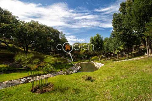 terrenos en residencial exclusivo, zona boscosa, la calera