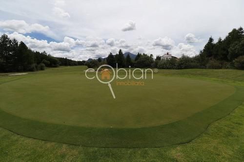 terrenos en residencial soltepec, campo de golf, casa club