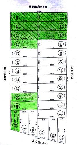 terrenos en ricardone - lotes con entrega inmediata y financiados
