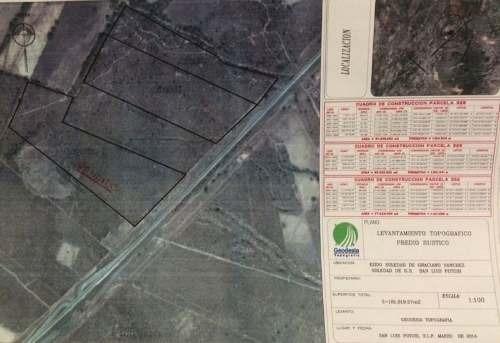 terrenos en venta carretera matehuala
