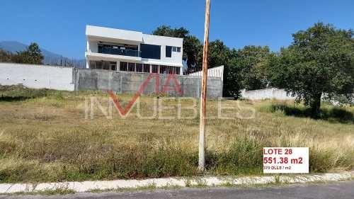 terrenos en venta en campestre, santiago, nuevo león