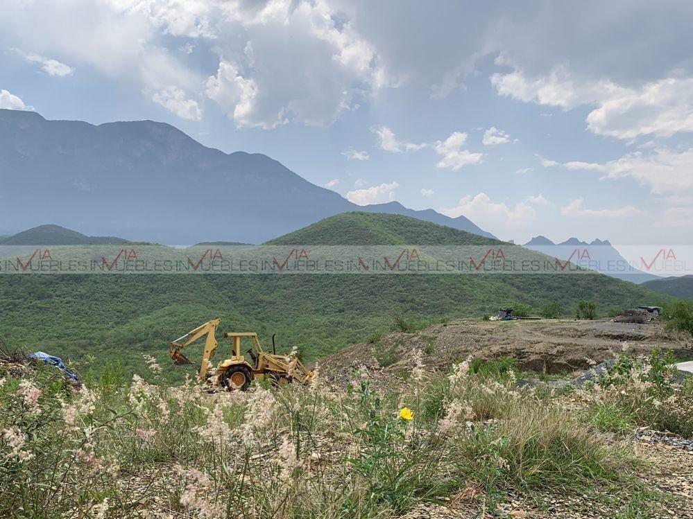 terrenos en venta en fraccionamiento los caracoles, santiago, nuevo león