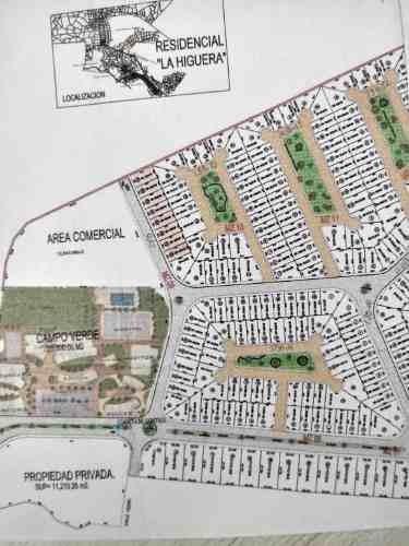terrenos en venta en la higuera residencial