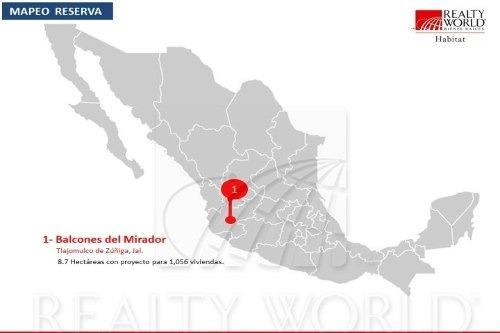 terrenos en venta en lomas del mirador, tlajomulco de zúñiga