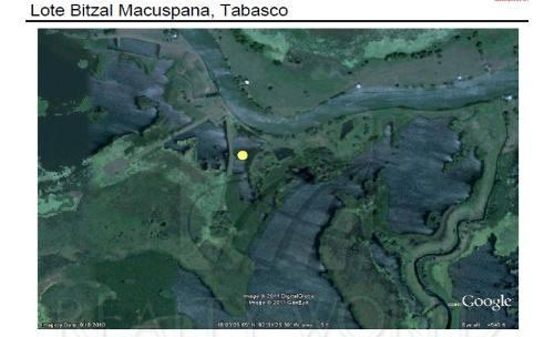terrenos en venta en macuspana centro, macuspana