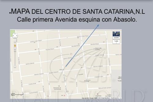 terrenos en venta en nueva santa catarina, santa catarina