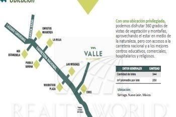 terrenos en venta en yerbaniz, santiago