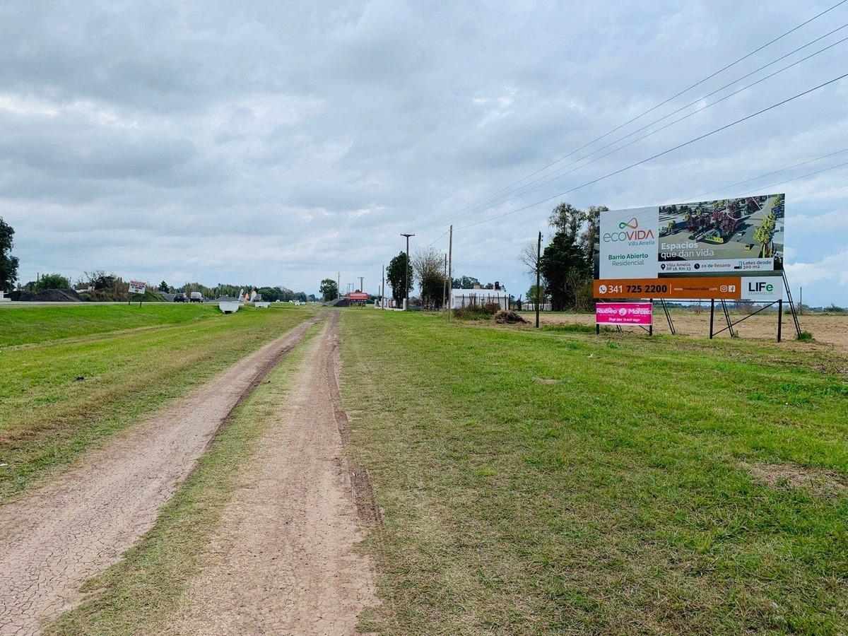 terrenos en villa amelia lotes financiados en cuotas fijas en pesos