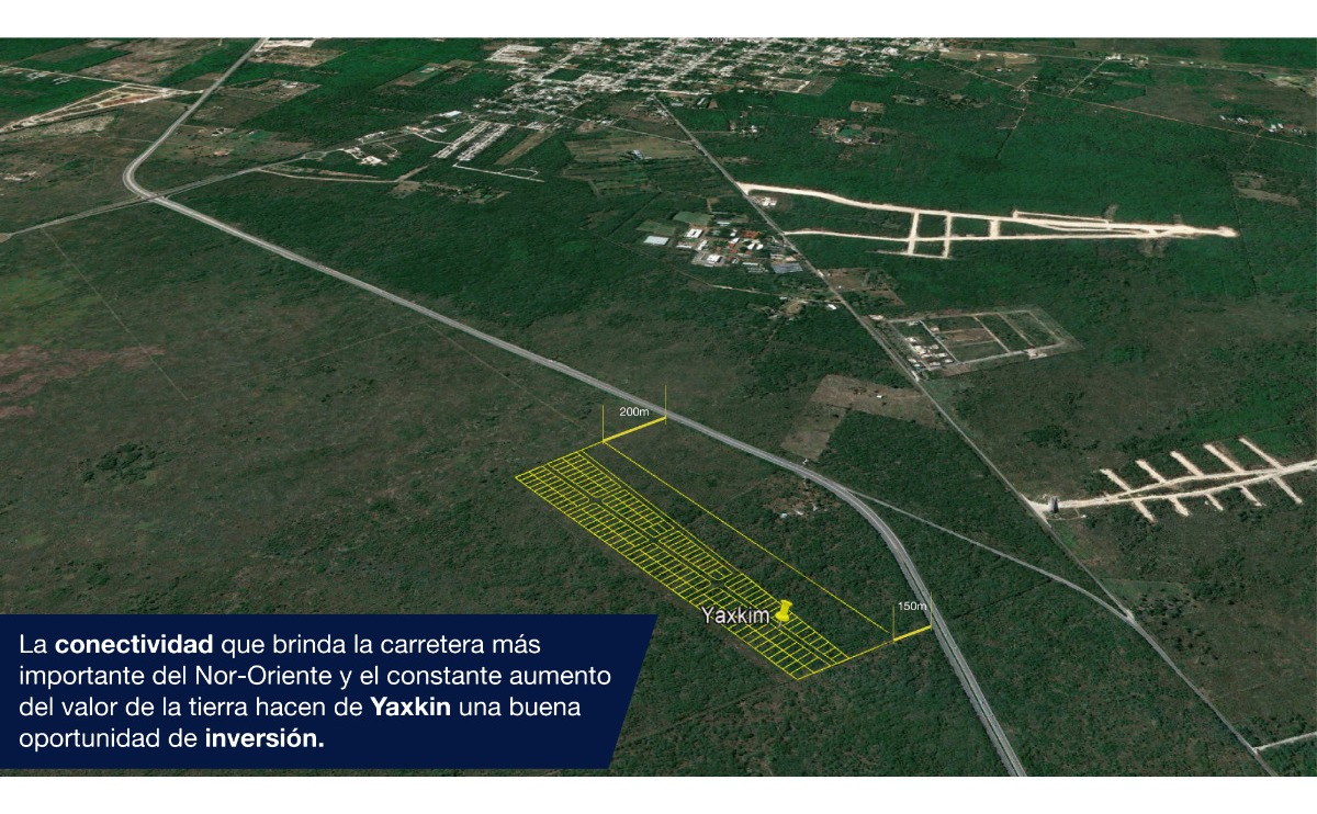 terrenos  en zona de plusvalía en yaxkukul. yaxkin.