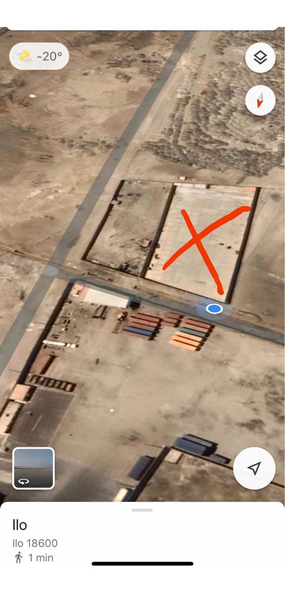 terrenos en zona industrial catacatas (ilo)