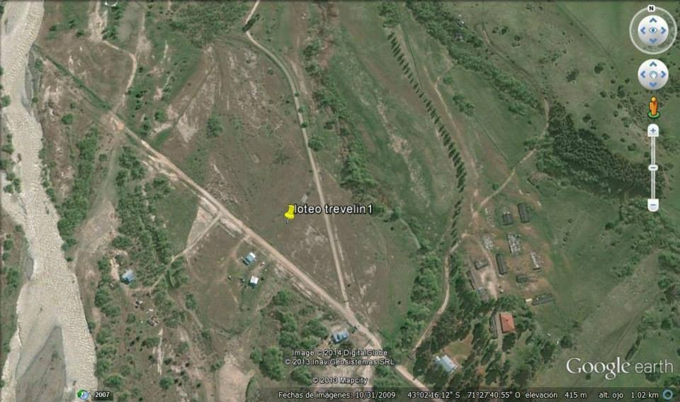 terrenos esquel-trevelin casi1000m2 c/u.con luz,gas,agua