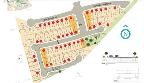 terrenos habitacionales desde 176 m2 en condominio turquesa en zibatá