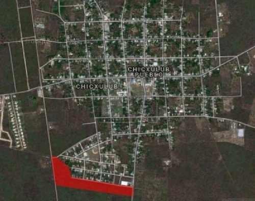 terrenos habitacionales, listos para construir en chicxulub pueblo desde 300 pesos el m2