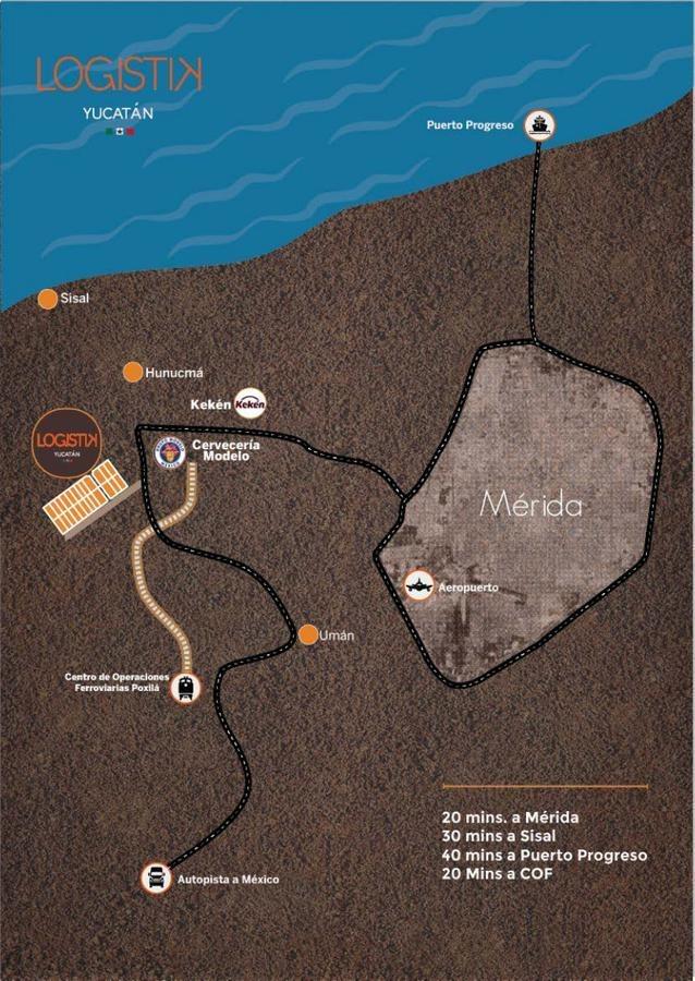terrenos industriales en la zona de hunucma,merida yucatan. con financiamiento!!