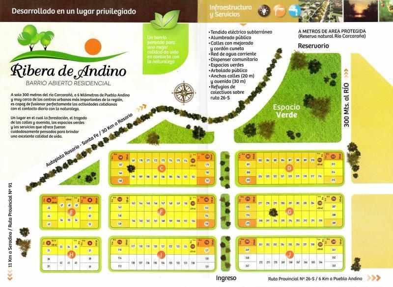 terrenos o lotes venta pueblo andino