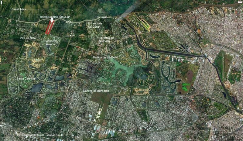 terrenos o lotes venta san juan (tigre)