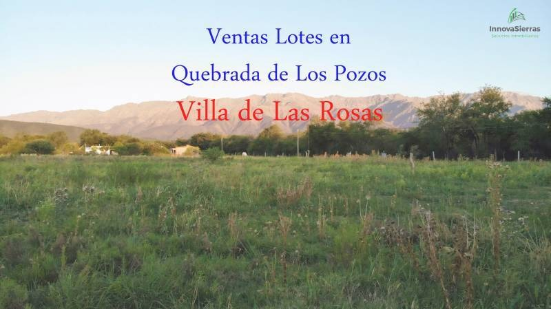 terrenos o lotes venta villa de las rosas