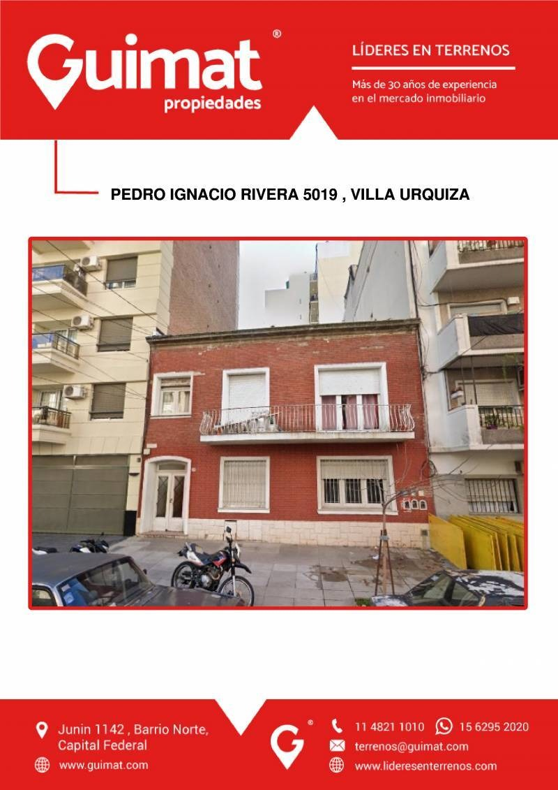 terrenos o lotes venta villa urquiza