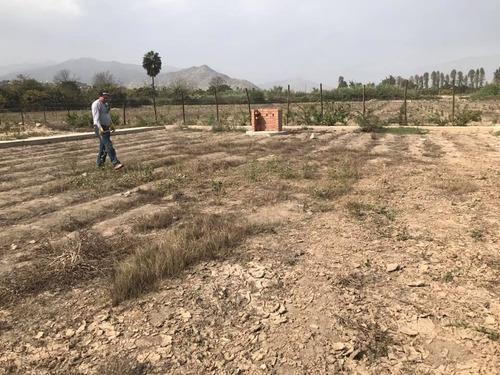 terrenos para casas de campo en huaral