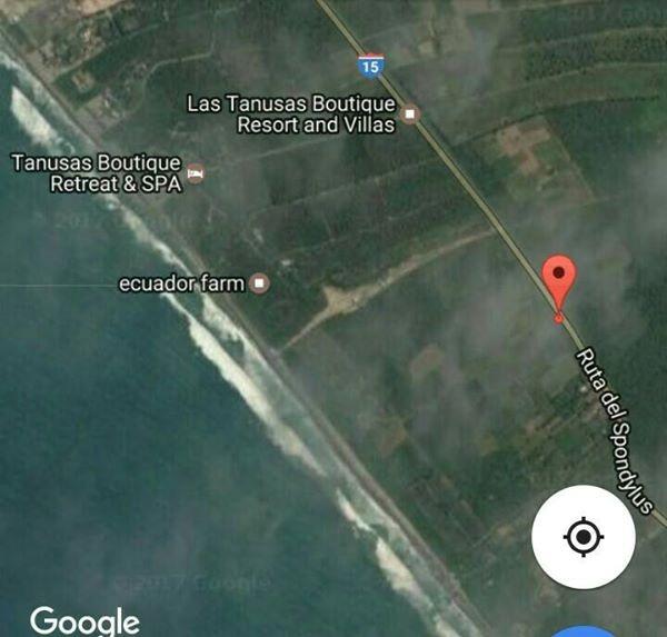 terrenos paradisíacos en la playa manabí ruta del spondylus