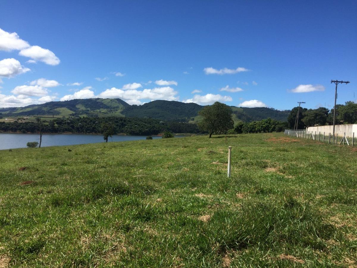 terrenos pé na água na represa a partir de 5.400 m² - tr-082