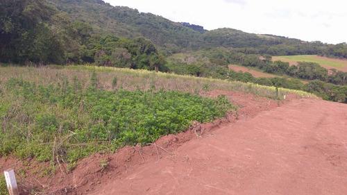 terrenos planos 300 metros da rodovia com infraestrutura j