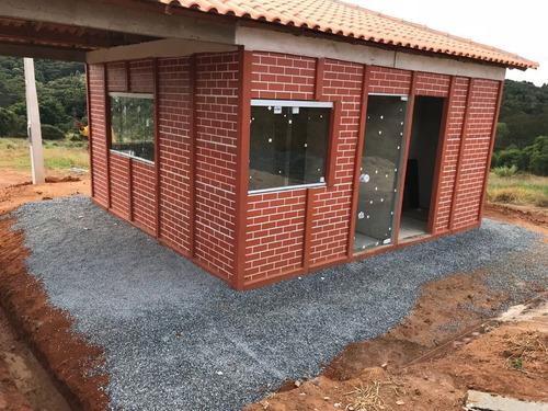 terrenos pronto p/ construir com portaria não é condominio j