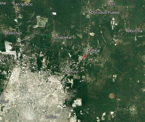 terrenos residenciales en venta, bosques de conkal etapa 1