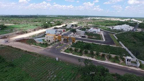 terrenos residenciales en venta, bosques de conkal etapa 2