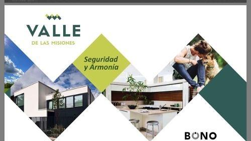 terrenos residenciales en venta en valle de las misiones