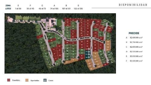 terrenos residenciales en zona privada al norte de mérida. preventa.