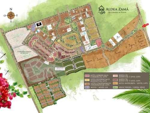 terrenos tulum ¨aldea zama¨ inversionistas constructores