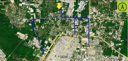 terrenos urbanizados en  dzitya
