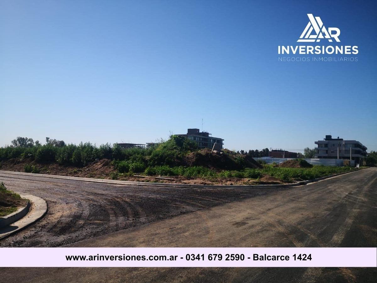 terrenos urbanos en fisherton - urbanizacion con excelente accesibilidad y entorno - financiacion