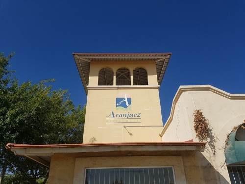 terrenos venta fracc. residencial aranjuez