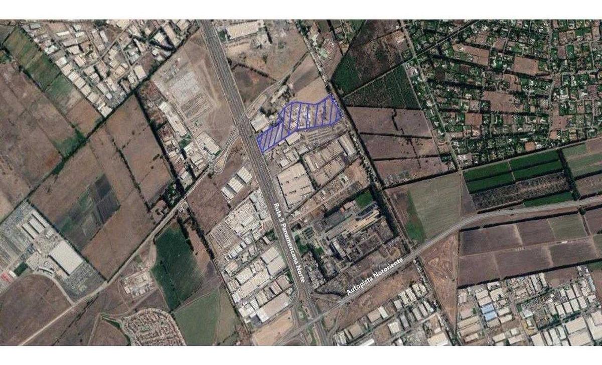 terrenos zona industrial exclusiva desde 0,04 uf / m2