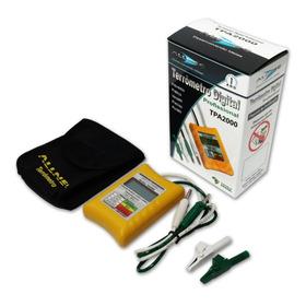 Terrômetro Digital Tpa2000+certificado Para Laudos Técnicos.