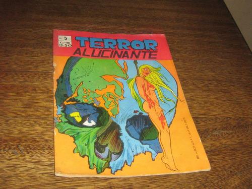 terror alucinante nº 5 ed gorrion ano:1973  original raro !