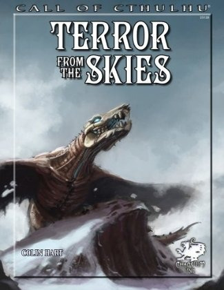 terror from the skies - suplemento call of cthulhu - rpg