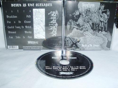 terror throne - death is the cleanser ( black death usa deat