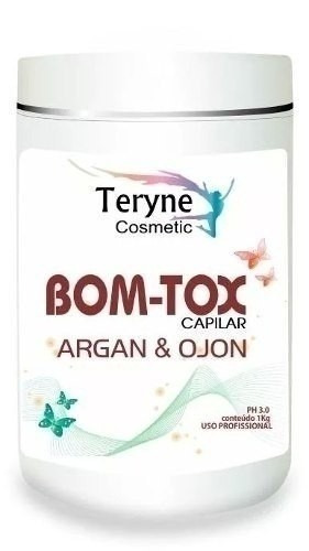 teryne capilar btx argan reduz e alisa frete gratis botox