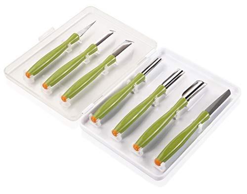 tescoma conjunto de herramientas de tallado presto tallado