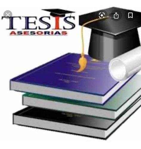 tesis, tesinas , tif. defensa presencial o virtual
