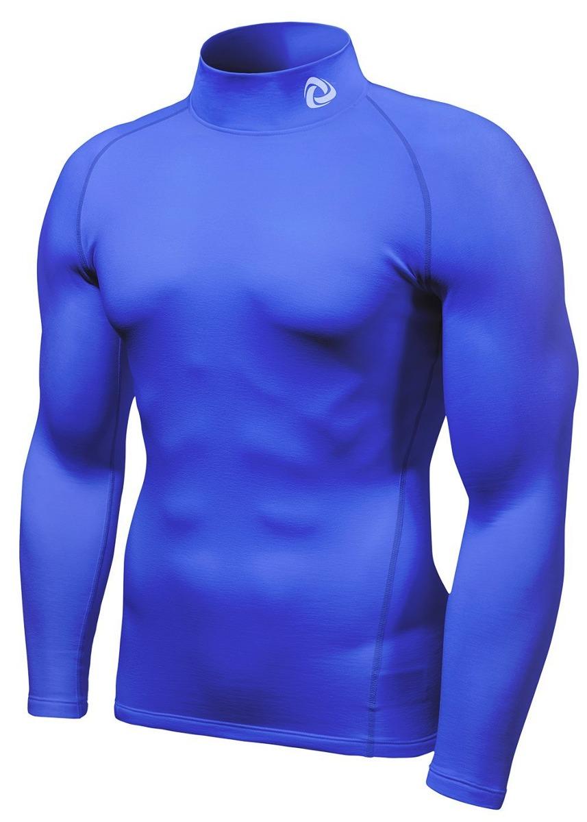 tesla hombre camiseta térmica manga larga ropa azul rey 2xl. Cargando zoom. 7011c326b5d08