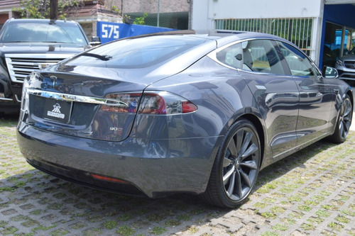 tesla model s 2017 90 d gris