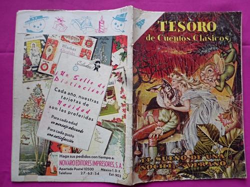 tesoro de cuentos clasicos n° 39 sueño de una noche verano