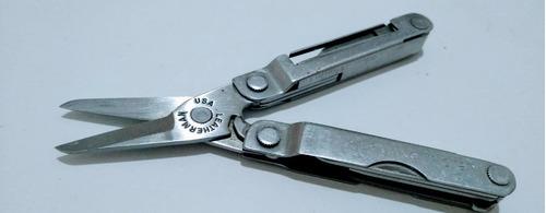 tesoura canivete micra j270 leatherman usado   r$90