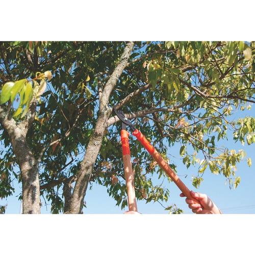 tesoura de poda cabo de madeira comprido 43 cm tramontina